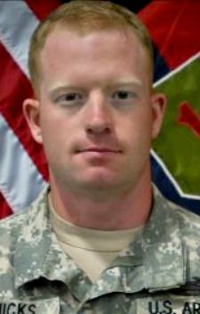 Army SGT. Channing B. Hicks, 24, of Greer, South Carolina. Died November 16, 2012, serving during Operation Enduring Freedom. Assigned to the 1st Battalion, 28th Infantry Regiment, 4th Brigade Combat Team, 1st Infantry Division, Fort Riley, Kansas. Died in Paktika Province, Afghanistan, from injuries suffered when enemy forces attacked his unit with an improvised explosive device and small arms fire.
