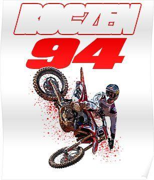 supercross champion kroc design poster
