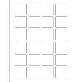 Templates Print To The Edge Square Labels 24 Per Sheet Avery Avery Square Labels Square Printable Labels Labels Printables Free Templates