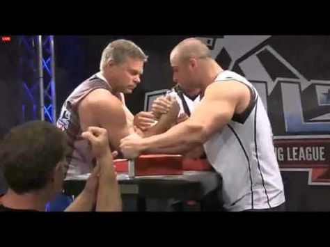 John Brzenk vs Chris Chandler Ultimate Armwrestling League UAL