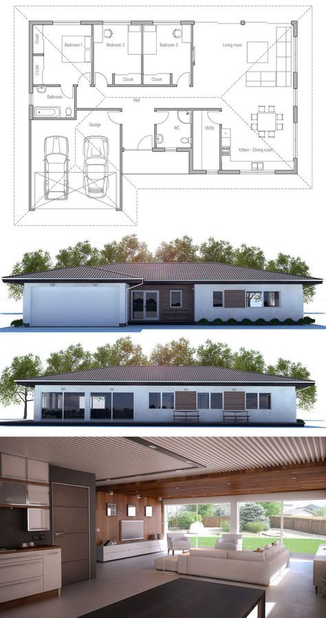 Small House Plan Smallhouse Architecture House Construction Plan New House Plans House Plans