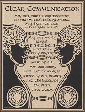 Prayer For Clear Communication Poster, Price: $1.65 #spiritualnumerology