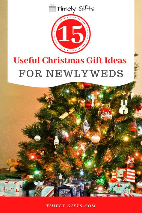 Looking for Christmas gift ideas for newlyweds? This article will have some super useful gift ideas for newlyweds that they are sure to appriciate! These many gift ideas are perfect for any newly married couple who are trying to put together the perfect home. #christmas #christmasgifts #newlyweds #newcouple #marriedcouple #giftideas #holidaygifts #familygifts #friendgifts #giftsforthem #couplegifts #marriedcouplegifts