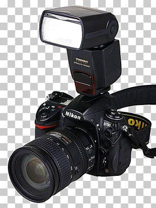 Digital Slr Flash Camera Photography Camera With Flash Black Nikon Dslr Camera With Flash Png Clipart Camera Photography Nikon Dslr Camera Digital Slr