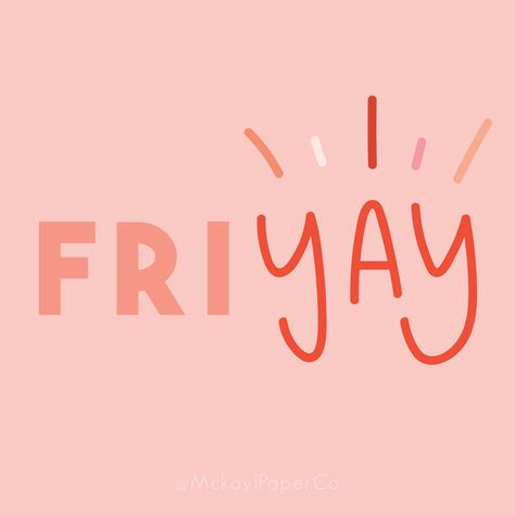 Friday Quotes, Handlettering, Quotes to live by, Motivation Mckayl Pape. Funny Friday Memes, Friday Humor, Happy Words, Wise Words, Memes Humor, Happy Friday Quotes, Quotes About Friday, Monday Morning Quotes, Morning Memes