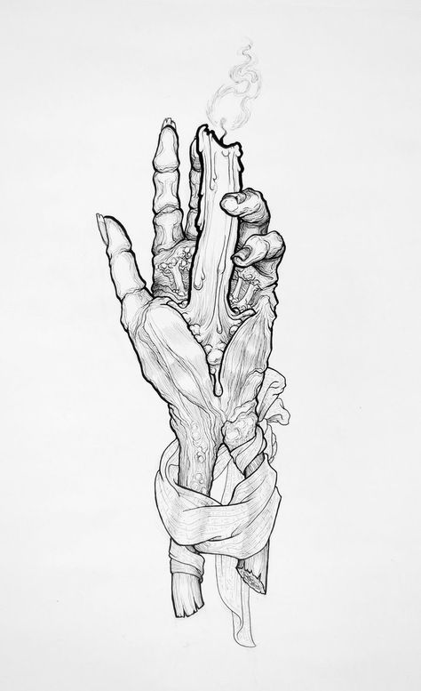 So it's been a while since I've posted anything, but I wanted to put up some of stuff I've been doing in my spare time. A Hand of Glory, as explained by all-knowing Wikipedia, is: The Hand of Glory...