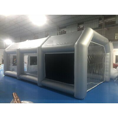 Details About 20 10 8ft Inflatable Tent Car Spray Paint Booth
