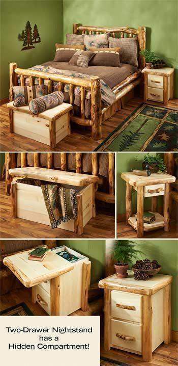 Cabin Furniture, Rustic Mountain Furniture