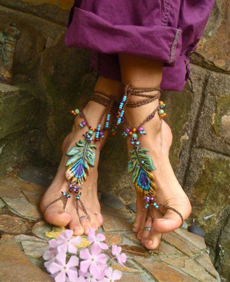 BOHEMIAN RHAPSODY sandals boho sandals leather Greek