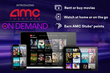Amc Theater Chain Gets Into Streaming With On Demand Movies Amc Theatres Video On Demand Amc