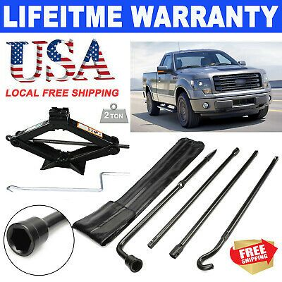Details About For 2004 2014 Ford F150 Lug Wrench Spare Tire Tool