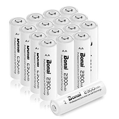 Ad Ebay Link Bonai 16 Pack 2300mah 1 2v Aa Ni Mh High Capacity Rechargeable Batteries Ul