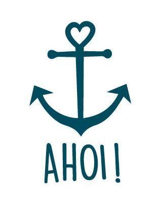 Beautiful anchor Ahoi - plotter file via Makerist.de - #Ahoi #anchor #bags #Beautiful #file #Makeristde #plotter
