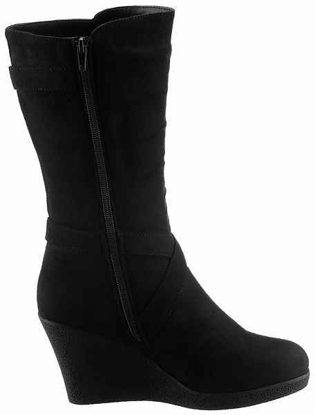 CITY WALK Stiefel in angesagter, runder Form | Cool boots