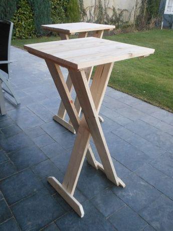 The Making Of My Stehtisch Stehtisch Holz Stehtisch Selber