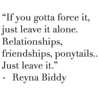 forced friendship quotes