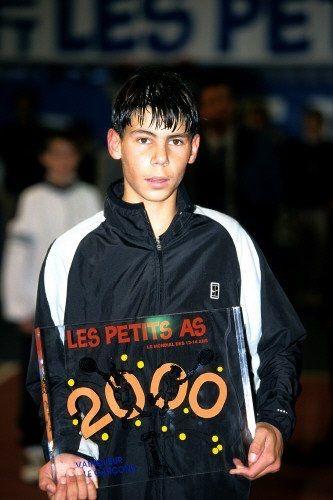 Young Rafa Tennis Champion Rafael Nadal Tennis Players