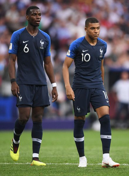 Paul Pogba Photos Photos France V Croatia 2018 Fifa World Cup Russia Final Soccer World Cup 2018 Fifa France World Cup 2018
