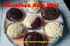 Dapurnya Rina Rinso Martabak Bolu Mini Dessert Recipes Easy Sweets Recipes Yummy Cakes