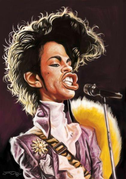 Resultado de imagem para prince caricature