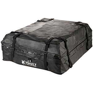Waterproof Canvas Cargo Storage Roof Bag By Vault Cargo On Top Of Car Bag Straps To Crossbars Or A Roof Basket Cargo Storage Cargo Carriers Cargo Carrier