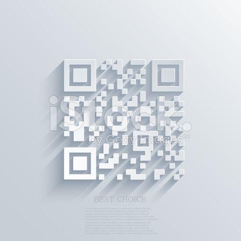 Vector Modern Qr Code Background Eps10 Illustration Code Qr