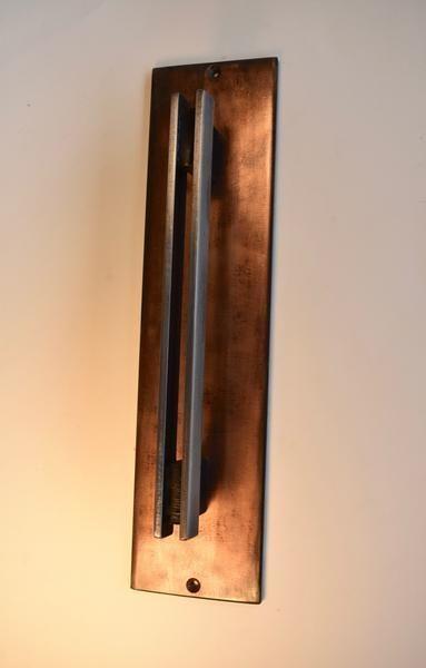 Copper Patina Steel Door Pull Barn Door Handle Door Pull Handles Door Handles Interior Barn Door Handles