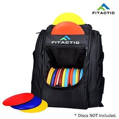 FITACTIC Luxury Frisbee Disc Golf Bag Backpack - Black (Capacity: 25-30 Discs) only $99 bucks on amazon.