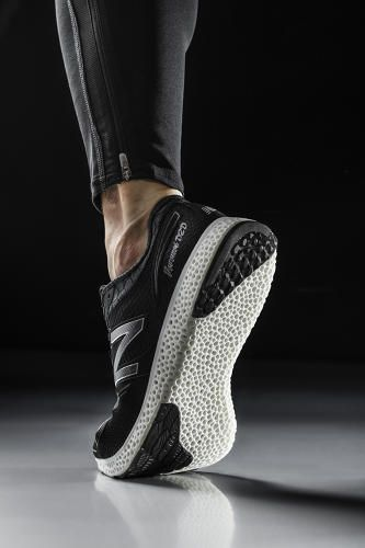 New Balance Pushes Ahead In Design Race To Bring 3-D Printed Shoes To Consumers—Look for them in Boston in April; Details>
