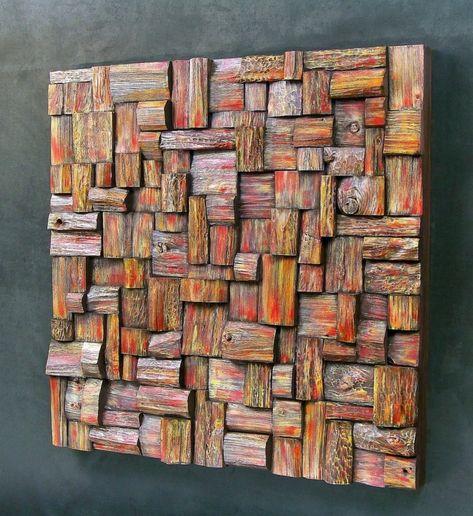 40 Verblüffende Ideen Für Wanddeko Aus Holz Deko