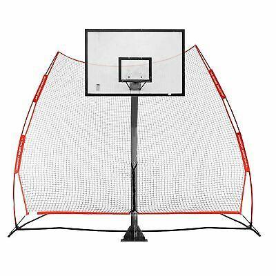 Rukket Basketball Return Net Guard And Backstop Hoop Rebound Back Netting At Ebay Basketball Hoop Basketball Basketball Court Backyard