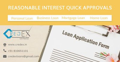 Credex Loans Provider In Ap Ts Locations Hdfc Personal Home Business Loan Payment Calcula In 2020 Business Loans Loan Personal Loans
