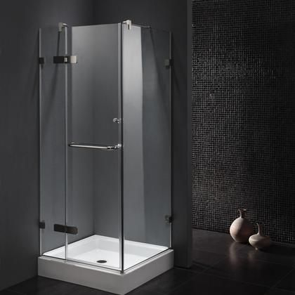 Vg6011chcl32 32 X 32 Corner Shower Enclosure With Frameless