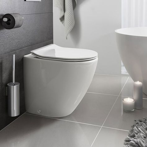 Crosswater Svelte Back To Wall Pan With Soft Close Seat Available Now Wall Hung Toilet Basin Vanity Unit New Toilet
