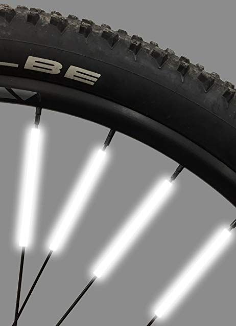 Bike Spoke Reflector Jusmar Pack Of 36 Bike Reflectors For