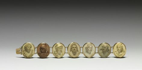 Cameos in rasied relief of the Olympic gods. The seven gods depicted are the gods of the planets in ... - #cameos #depicted #olympic #planets #rasied #relief #seven - #RomansMuseum