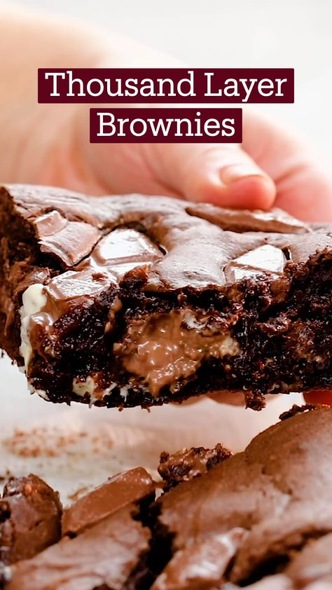 Thousand Layer Brownies