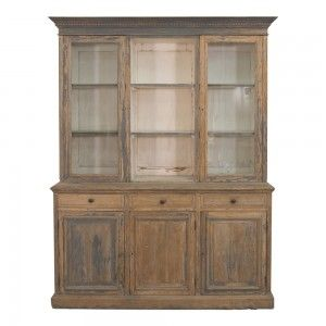 Vintage Farmhouse Glass Front Cabinet Farmhouse Chic Farmhousechic Displaycabinets Shabby Chic Cabinet Farmhouse Dining Room Farmhouse Glass