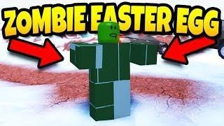 ZOMBIE Easter Egg on Jailbreak! Roblox | Roblox Games