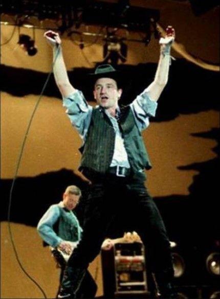 U2 -Joshua Tree Tour -29/05/1987 -Modène - Stadio Comunale