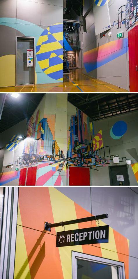 Murals - Northern Sound System Interior Painting