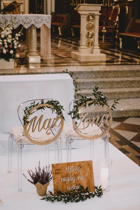 Piekna Dekoracja Kosciola Dekoracje Wedding Wedding Decorations Wedding Deco