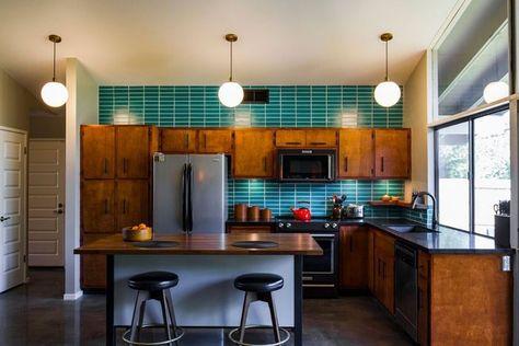 37 Stylish Mid Century Modern Kitchen Design Ideashomedecorish
