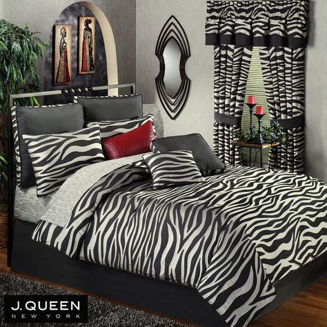 Zebra Print Bedding Queen Zebra Comforter Bedding By J Queen New
