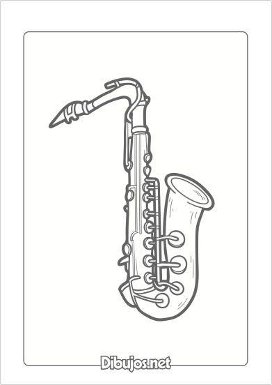 10 Dibujos De Instrumentos Musicales Para Imprimir Y Colorear Dibujos Net Flower Embroidery Designs Music Instruments Musicals