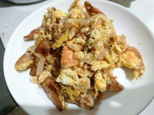 ウインナー 玉ねぎ 卵