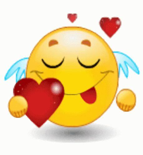 Emoji Hearts GIF - Emoji Hearts - Discover & Share GIFs