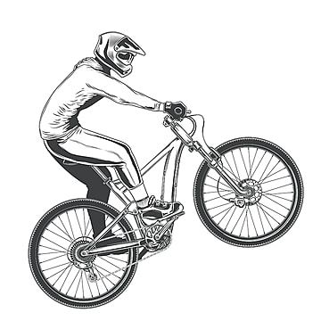Ride On A Sports Bicycle Bicycle S Bike Png And Vector With Transparent Background For Free Download Bike Silhouette Bicycle Black Background Design