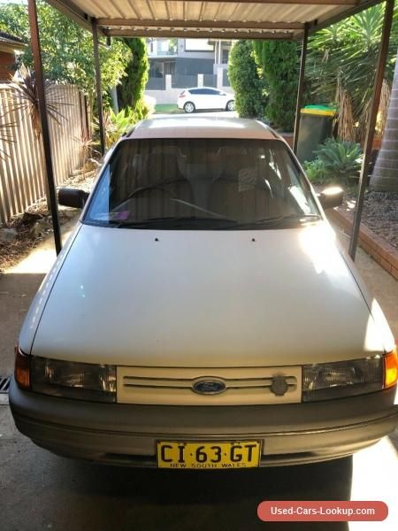Car For Sale Ford Laser 1990