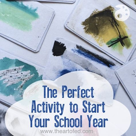 The Perfect Activity to Start Your School Year